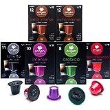 120 Cápsulas Nespresso Surtido Compatibles con Máquinas Nespresso - 40 Extra Intense, 20 Ristretto, 20 Intense, 20 Arabica, 2