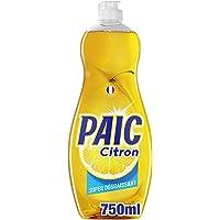 PAIC - Liquide Vaisselle Paic Citron Super dégraissant - Pour une Vaisselle Propre et Brillante - Élimine les Graisses…