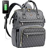 LOVEVOOK Rucksack Damen mit Laptopfach 15,6 Zoll, Schulrucksack mädchen teenager, Laptop Rucksack wasserdicht,Tasche mit USB