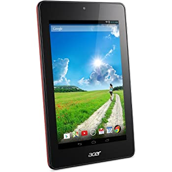 Acer Iconia One7 B1-730HD Tablet (16GB,WiFi), Garnet Red