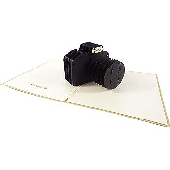 Camera Design 3d Pop Up Card Greeting Card Birthday Card