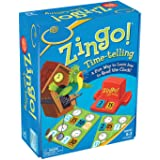 Toys&us Telling Board Game is A Fun and Educational Time-Telling Game Analogue and Digital Time Reading and Converting Between Them with 2 Levels for Age 4 Years and Up