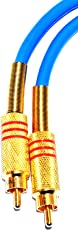 MA Professional Gold Plated1 RCA Male to 1 RCA Male RCA Male to Male Cable 75 ohms Digital Video S/PDIF Coaxial Cable (3 Mtr.)