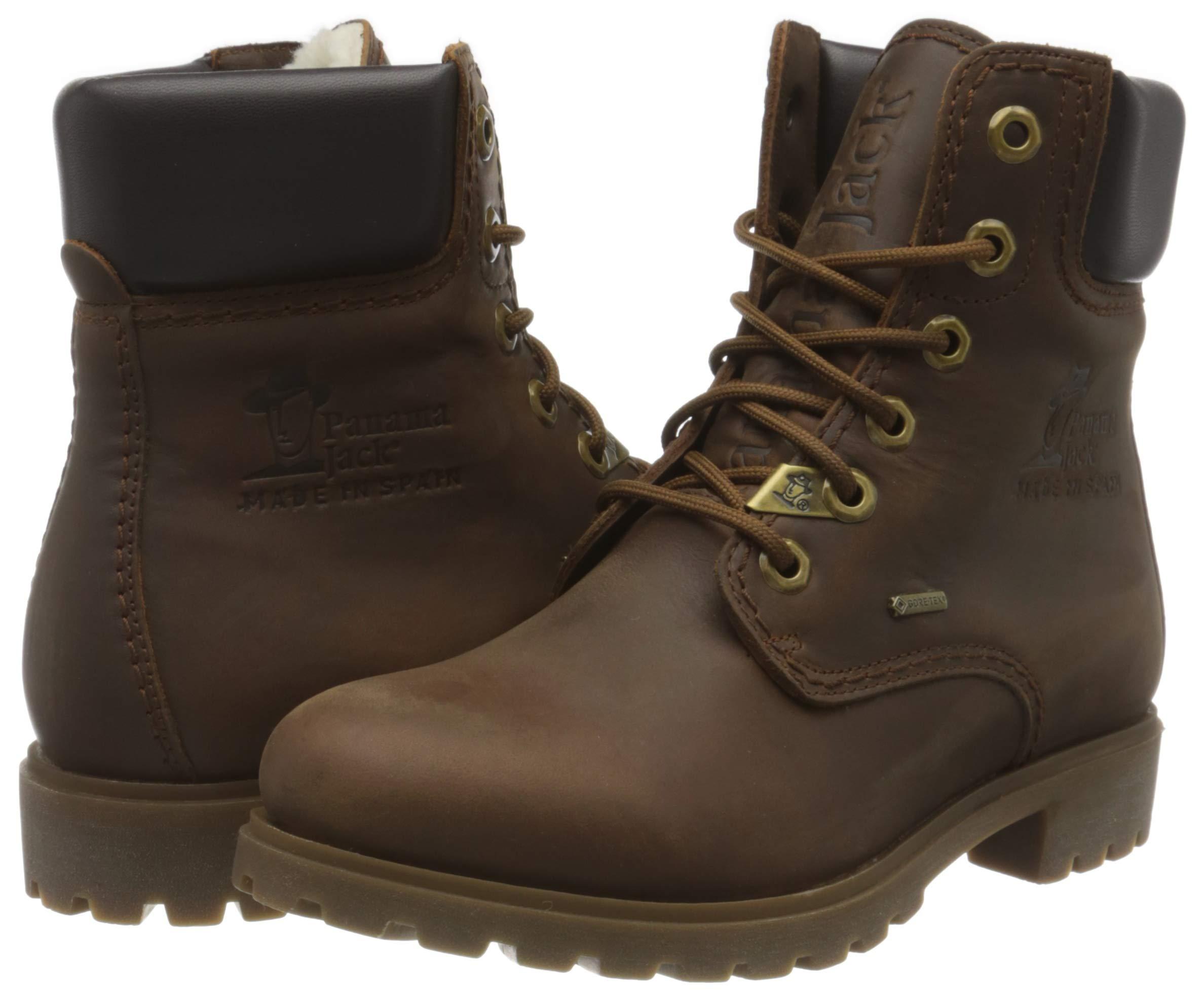 Panama Jack Women's Panama 03 GTX Wool Combat Boots 5