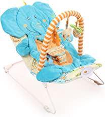 Sunbaby Elephant Baby Bouncer (Blue)