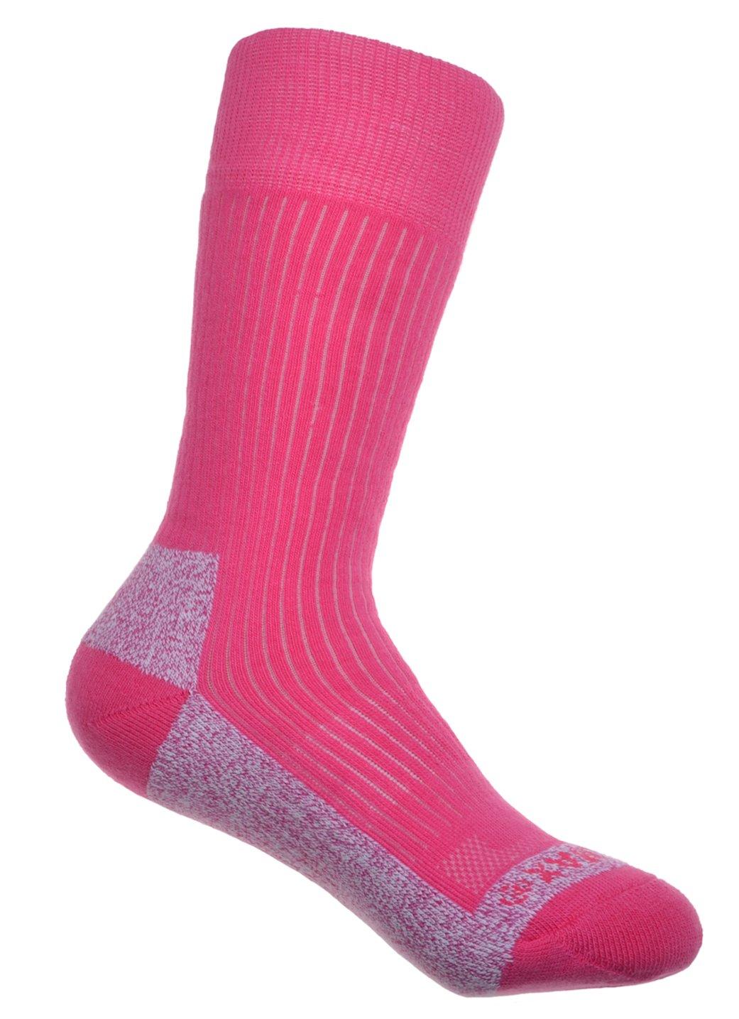 2 Pairs of Thick Cotton Coolmax Ladies Socks Ladies Medium 4-7