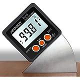 AUTOUTLET Digitale Inclinometer Gradenboog 4 * 90 ° Level Box Hoekzoeker Achtergrondverlichting Niveaumeter Bevel Gauge met M