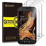 QULLOO Protector de Pantalla Samsung Galaxy Xcover 4S / 4, Cristal Templado [9H Dureza][Alta Definición][Fácil de Instalar] p
