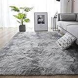 Leesentec Vloerkleed, zachte slaapkamertapijt, antislip, zachte woonkamertapijt, ruige voetmatten, groot voor slaapkamer, 120