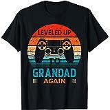 Hombre Subiendo de nivel al abuelo de nuevo Camiseta