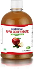 HealthViva Apple Cider Vinegar with Mother, 500 ml
