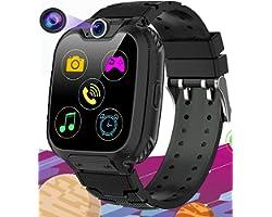 Smartwatch per Bambini con 16 Giochi - Musica MP3 Orologio Intelligente Bambini con SOS Telefono Camera Recorder Sveglia (Inc