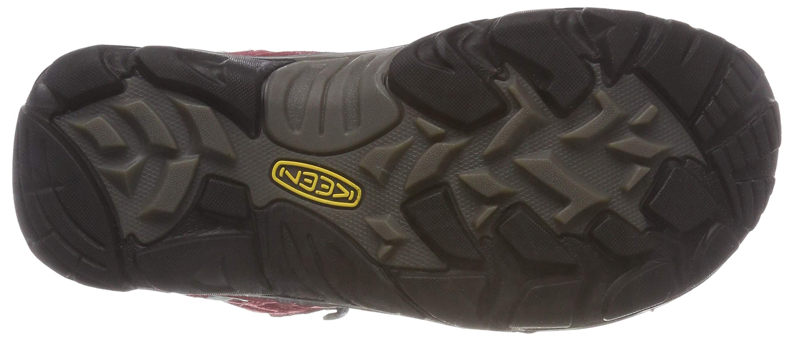 KEEN Women's Wanderer Waterproof Mid High Rise Hiking Shoes, 8.5 UK 3