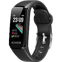Fitness Armband Uhr, Smartwatch Wasserdicht IP68 Fitness Tracker mit Pulsmesser Blutdruckmessung Aktivitätstracker…