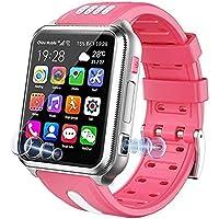 WHXJ 4G - Orologio intelligente per bambini, impermeabile, per bambini, con scheda SIM e tfka, colore: rosa
