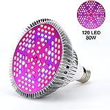 Lumière De Plante 30W 50W 80W E27 LED Pleine Spectrum Lampe De Croissance De Plantes Horticulture Ampoule Pour Jardin ( Edition : 80w )