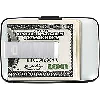 Ögon Smart Wallets - Stockholm Money Clip Porte-Cartes en Aluminium - RFID Protection - Peut contenir jusqu'à 10 Cartes…
