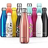 Proworks RVS Sport Waterfles | Dubbel Geïsoleerde Thermosfles voor 12 Uur Warme en 24 Uur Koude Drankjes - ideaal voor thuis,