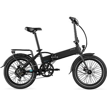 Legend eBikes Monza 36V8Ah Bicicleta Eléctrica Plegable, Unisex Adulto, Onyx Black, Talla Única