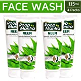 Roop Mantra Neem Face Wash, 115 ml (Pack of 4)