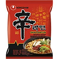 Nong Shim Noodles Shin Ramen - Pacco da 20 x 120 g