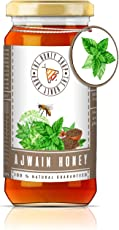THE HONEY SHOP Ajwain Honey 325g Collected from Ajwain Blossom 100% Pure and Natural