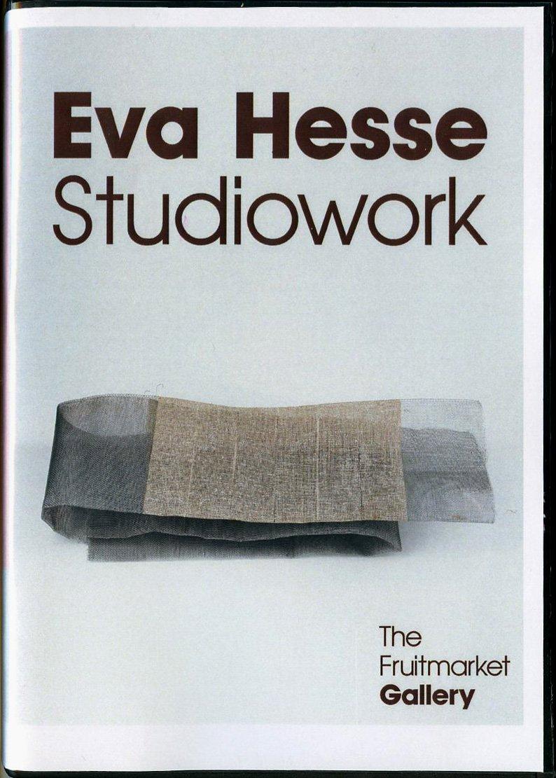 Eva Hesse - Studiowork DVD ^ [Edizione: Regno Unito]