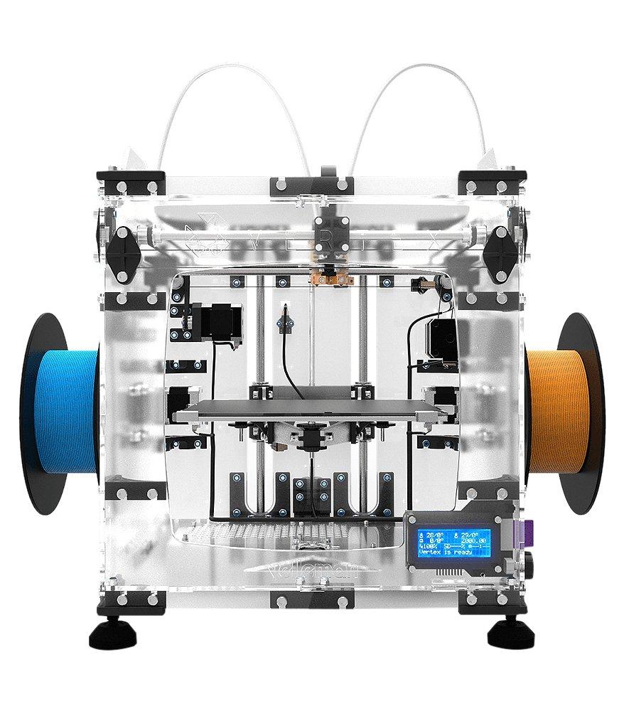 Velleman K8400 impresora 3d - impresoras 3d (Translúcido, LCD, 2.0, SD, 150W, 100-240V)