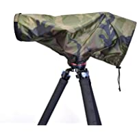 Tuskr Dust & Rain Cover Pro - for 200-500, 200-600, 150-600 (Greenland Camouflage)