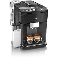 Siemens EQ.500 integral Kaffeevollautomat TQ505D09, einfache Bedienung, integrierter Milchbehälter, zwei Tassen…