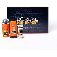 L'Oréal Paris Men Expert Kit Uomo Travel Set, con Crema Viso Idratante Hydra Energetic, Deodorante Roll-on Carbon…