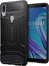 KAPAVER® Asus Max Pro M1 Case Premium Tough Rugged Solid Black Shock Proof Slim Armor Back Cover Case for Asus Zenfone Max Pro (M1) ZB601KL