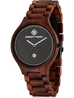 d56be095010cb2 Kerbholz Armbanduhr Lamprecht Sandalwood  Amazon.de  Uhren