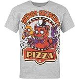 Official Pizza Grises Niños Camiseta de los niños Top de Cinco Noches en Freddy