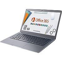 Jumper Laptop Microsoft Office 365, 13,3 Zoll FHD Notebook (4GB DDR3, 64GB eMMC, Erweiterbarer Speicher 1TB SSD und…