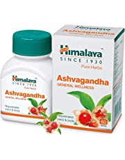 Himalaya Wellness Pure Herbs Ashvagandha General Wellness - 60 Tablets