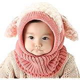 Bufandas del Bebé, Bebé Unisex-caliente Cachorro Puppy Bufanda Mantón Bebé Infantil Smart Hat