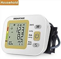 BROADCARE Monitor de presión arterial con banda para el brazo ajustable (B)