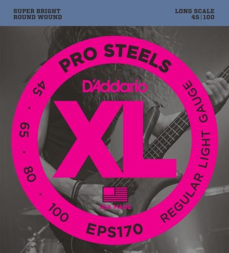 D'Addario EPS170 - De acero, .045 - .100