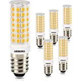 LEDBOKLI E14 8W LED-lampa, 88 lysdioder 700 lm lampor, 3 000 K varmvit, 360° vidvinkel, AC220–240 V, ersätter 80W traditionel