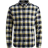 Jack & Jones Jjewashington Shirt L/S STS Camisa para Hombre
