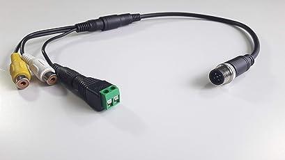 Fendt Adapterkabel Kamerakabel FEN2 Cinch Varioterminal 10.1 für Rückfahrkamera