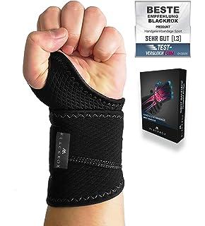 GASP Branch 18 Wrist Wraps Handgelenkbandagen Bodybuilding Bandagen Schwarz Grün