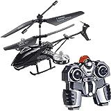 Simulus Helikopter: Ferngesteuerter 4-Kanal-Mini-Hubschrauber mit 5 Rotoren und Gyroskop (RC Hubschrauber)