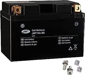 Yt12a Bs Gel Batterie Für Gsf 1250 A Bandit Abs Baujahr 2007 2012 Von Jmt Auto