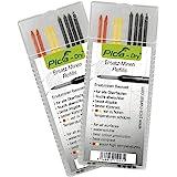 Pica 4020_2 Dry vullingen, rood, geel, zwart