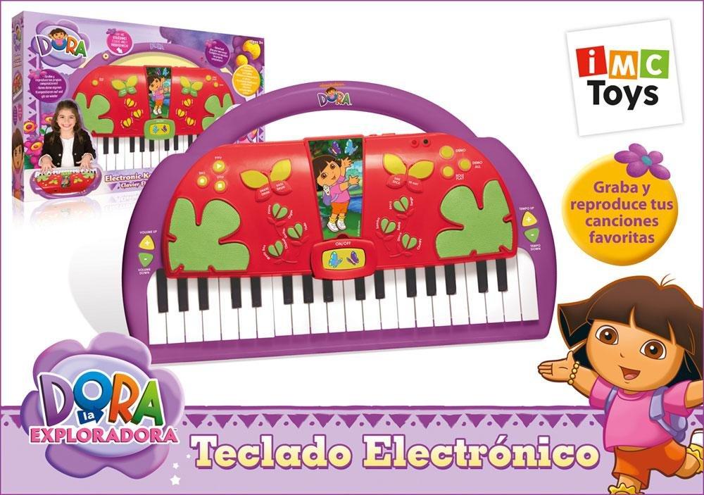 IMC Toys – Dora La Exploradora. Teclado Electronico