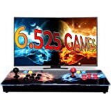 Unicview Pandora Box 3D, Retro Consola Maquina recreativa Arcade Video, Joystick Arcade, Versiones Originales 6525 Juegos Ret