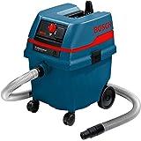 Bosch Professional Nass-/Trockensauger GAS 25 L SFC (25 L Behältervolumen, Staubklasse L) blau, 0601979103