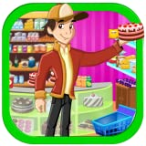 Supermarket boy party shopping